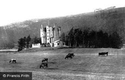 Braemar, Braemar Castle c.1895
