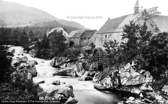 Braemar,Mill on the Cluny 1890,Grampian