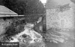 Mill Stream, River Dee 1905, Braemar