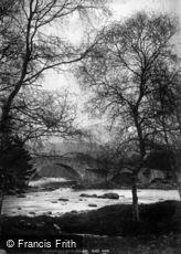 Braemar, Old Invercauld Bridge c1880
