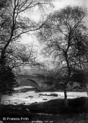 Old Invercauld Bridge c.1880, Braemar