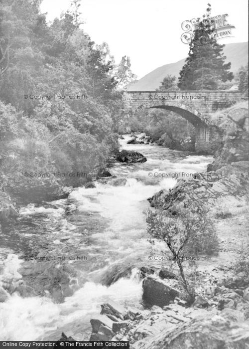 Photo of Braemar, The River Cluny c.1930