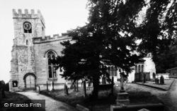 Brafferton, Parish Church c.1955