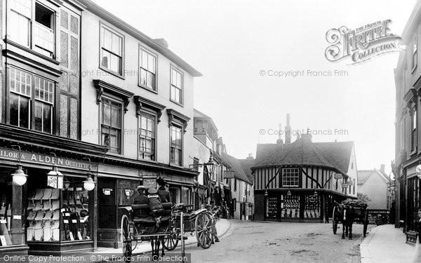 Photo of Braintree, Bank Street 1903