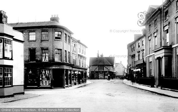 Bank Street, Braintree, 1903, Essex.  (Neg.  50562)  © Copyright The Francis Frith Collection 2005. http://www.francisfrith.com