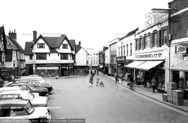 Braintree, Bank Street c.1965