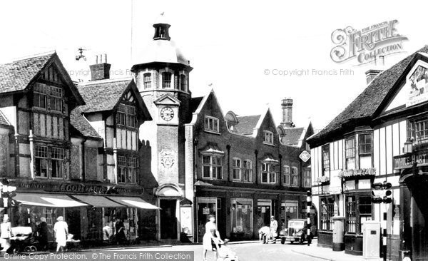 Photo of Braintree, Bocking End c1955, ref. B178032