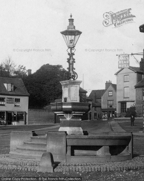 Braintree, Drinking Fountain 1900
