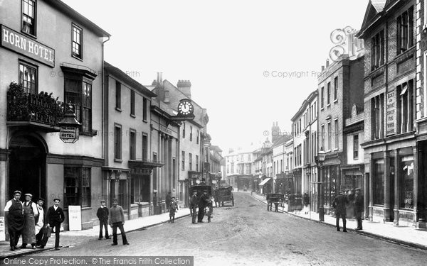 High Street, Braintree, 1900, Essex.  (Neg. 46241)  © Copyright The Francis Frith Collection 2005. http://www.francisfrith.com