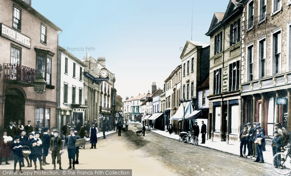 High Street, Braintree, 1906, Essex.  (Neg. 55533T)  © Copyright The Francis Frith Collection 2005. http://www.francisfrith.com