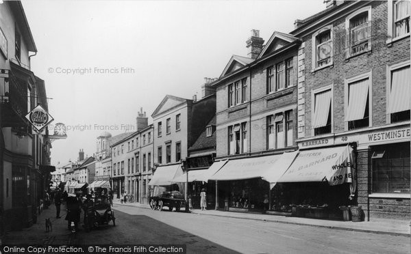 Braintree, High Street 1923