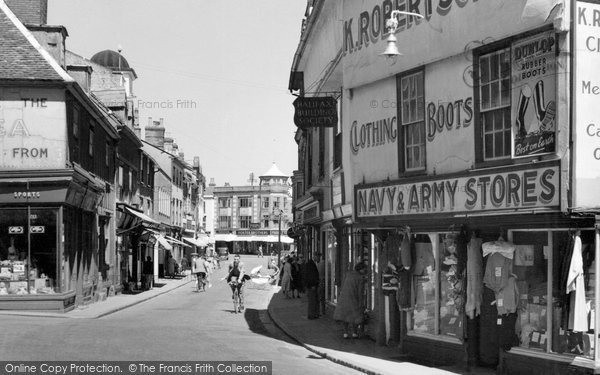 Braintree, High Street c.1960