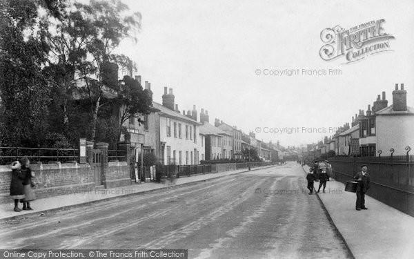 Photo of Braintree, Manor Street 1906