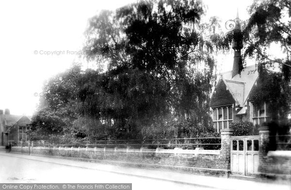 Photo of Braintree, Manor Street Schools 1902