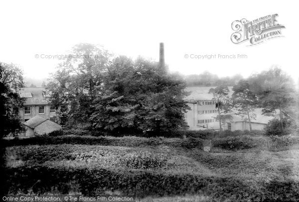 Photo of Braintree, Silk Mills 1902, ref. 48283