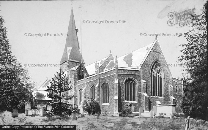 St Michael's Church, Braintree, 1900, Essex.  (Neg. 46244)  © Copyright The Francis Frith Collection 2005. http://www.francisfrith.com