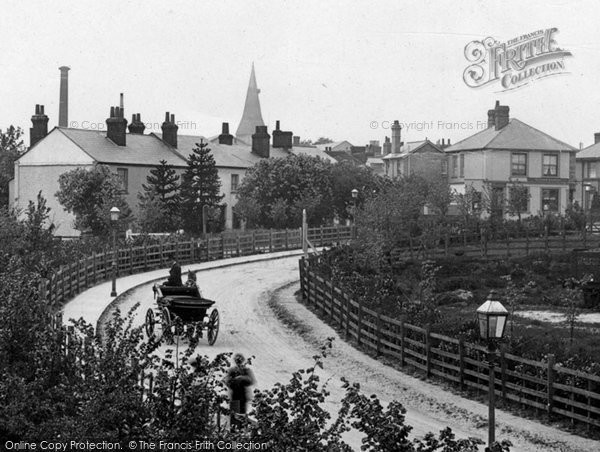 Station Road, Braintree, 1906, Essex.  (Neg. 57567V)  © Copyright The Francis Frith Collection 2005. http://www.francisfrith.com