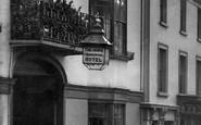 Braintree, The Horn Hotel, High Street 1900