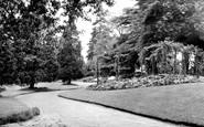 Braintree, The Public Gardens c.1955