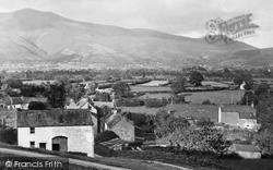 Braithwaite, Main Street Towards Skiddaw c.1955