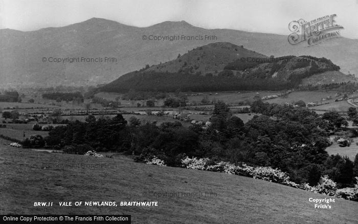 Braithwaite, Vale Of Newlands c.1955