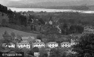Braithwaite, Village And Bassenthwaite Lake c.1955