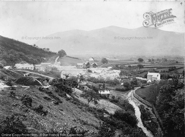 Braithwaite, Village And Skiddaw c.1880
