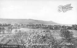 Bramber, Chanctonbury From The Castle c.1955