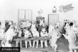 Bramber, Museum, The Rabbits School - Class 2 Arithmetic c.1930