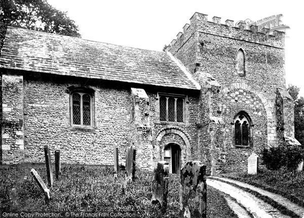 Bramber, St Nicholas' Church c.1900