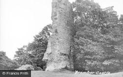 Bramber, The Castle c.1960