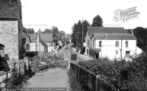 Bramber, The Old Tollgate And Village c.1955