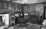 Bramber, The Painted Room, St Mary's c.1960