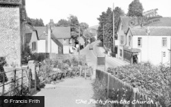 Bramber, The Path To The Church c.1960