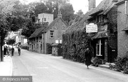 Bramber, The Village Street c.1950