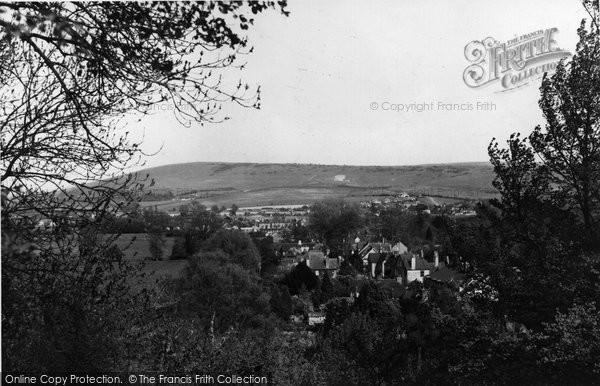 Bramber, View From The Castle c.1955
