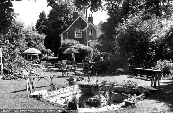 Bramber, Yew Tree Tea Gardens c.1950