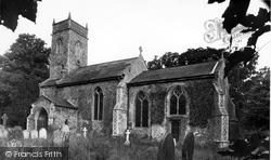 Bramerton, St Peter's Church c.1955