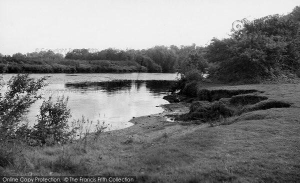Photo of Bramerton, The River Yare c.1955