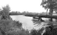 Bramerton, The River Yare c.1965