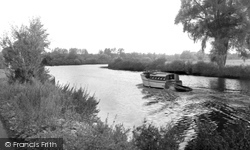 Bramerton, The River Yare c.1965