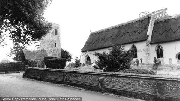 Bramfield, St Andrew's Church c.1960