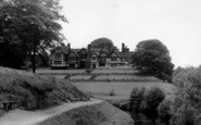 Bramhall, Bramall Hall From Lady Brook c.1955