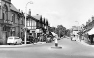 Bramhall, Bramhall Lane South c.1965