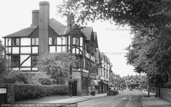 Bramhall, The Village c.1955