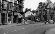 Bramhall, Woodford Road Shops c.1965