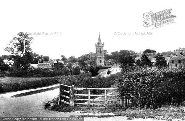 Photo of Bramham, All Saints Church 1909