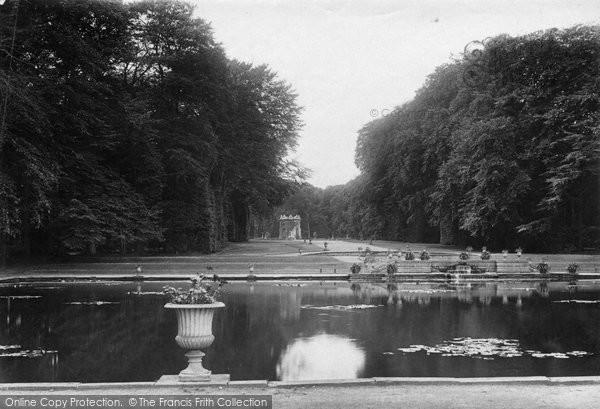 Photo of Bramham, Park, Obelisk Pond And Gothic Temple 1909
