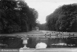 Bramham, Park, Obelisk Pond And Gothic Temple 1909