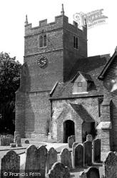 Bramley, All Saints Church c.1955
